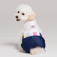 메종드독 강아지옷 애견 한복 색동 올인원_(1053170)