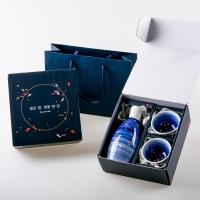 연못 잔 + 주병 선물세트