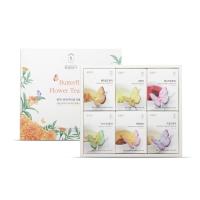 [꽃을담다] 꽃차나비티백 6종세트