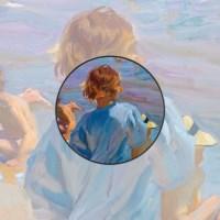 [명화] 호아킨 소로야 발렌시아 해변의 아이들