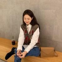 [프롬비기닝]Stove winter knit vest_M (울 50%)