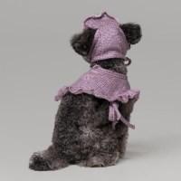 Winter cha cha SET (manteau, hat) / pink