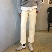 [프롬비기닝]Warm straight boy pants_B (융기모)