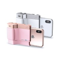 미고 PICTAR ONE PLUS MARK II 핑크/화이트 아이폰/삼성/소니 겸용