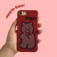 [뮤즈무드] apple bear 아이폰케이스