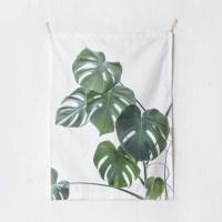 보태니컬 식물 패브릭 포스터 가리개 커튼 태피스트리 3_(1870770)