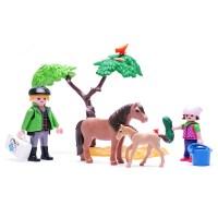 플레이모빌  사육사와 조랑말 가족(6949)