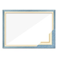 퍼즐액자 51x73.5 고급형 수지 블루_(1990773)