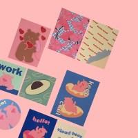 [뮤즈무드] hello! dear muse mood sticker pack