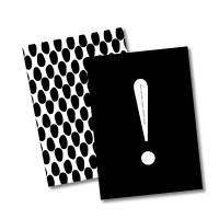 블랙 패턴 노트(모눈)_A,B