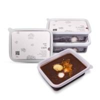 [담꽃] 직접 삶고 걸러낸 냉동 수제 단팥죽 4개
