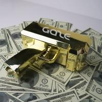 GAZE MONEY GUN Gold 게이즈 골드 머니건 파티 (지폐50pcs 포함)