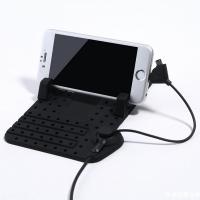 논슬립 + 충전케이블/차량용휴대폰 거치대 MI-CH01
