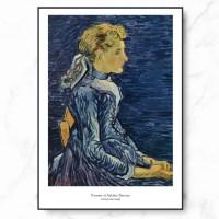 인테리어 명화 캔버스 액자 포스터 반 고흐 라부양의 초_(1909243)