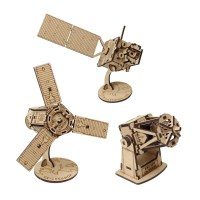 [ 모또 나무 입체퍼즐] 우리나라 기술로 만든 우주과학 시리즈 3종
