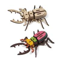 [ 모또 나무 입체퍼즐] 사슴벌레 만들기