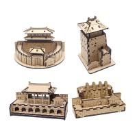 [ 모또 나무 입체퍼즐] 수원화성 만들기 시리즈 4종