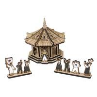 [ 모또 나무 입체퍼즐] 탑골공원 만들기 삼일절 기념