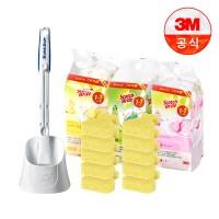 [3M]크린스틱 변기청소 핸들+캐디+향기톡톡 리필10입_(1938257)