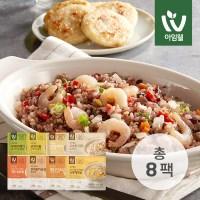 [아임웰] 라이트밀 영양 곤약밥 8종 혼합 8팩