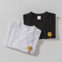 포켓안 스마일 아동 티셔츠