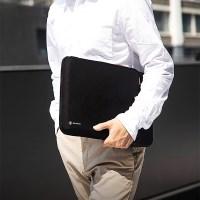 H13 뉴맥북프로 뉴맥북에어 노트북 파우치 11.6인치-13인치 블랙