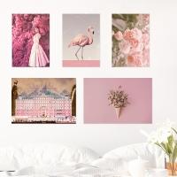 21종 핑크 컬러테라피 홈데코포스터