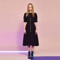[7/22 예약배송]Cupra Button Dress in Black