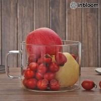 인블룸 내열 강화 대용량 투명 유리컵_(1686455)