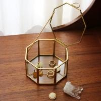 Brass & Glass Box - octagon /팔각 보석함