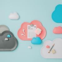 [퀄리] Cloud Tray 구름 트레이