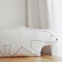 animal polar bear cushion