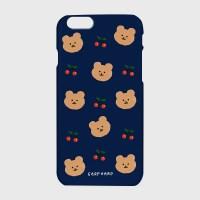 [하드/터프/슬라이드]Dot cherry bear-navy