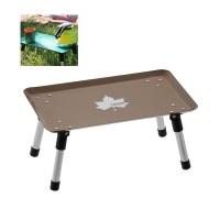 로고스 하드 미니 테이블 (빈티지 브라운) 73189050 야외용 휴대용