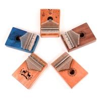 KALIMBA 17음계 칼림바 아프리카악기 5color+조율SET증정