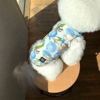 [T.파인애플민소매]Pineapple sleeveless T_Blue
