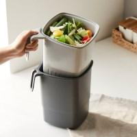 밀폐가 잘되는 음식물 쓰레기통 4L
