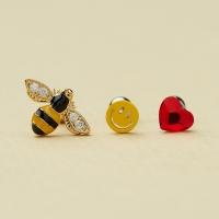꿀벌 스마일 하트 피어싱
