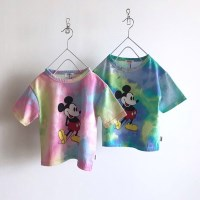 (정품) 미키 물나염 아동 반팔티셔츠