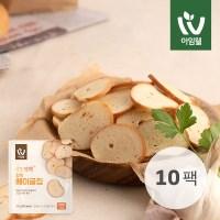 [아임웰] 단짠단백 갈릭 베이글칩 10팩