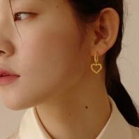 Alice Heart Bubble Earring