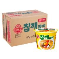 [오뚜기] 참깨라면 큰컵 110gx12개(BOX)