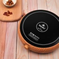 노빌타 우드 원형 인덕션 1구 - 인덕션겸용냄비 2종세트 사은품증정