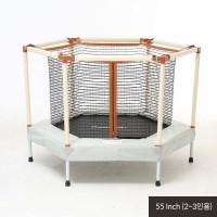 [예약구매] 맘앤리틀 유아 트램폴린 55인치(140cm) 2~3인용