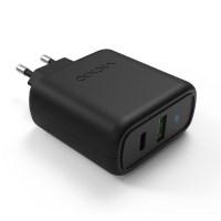 퀄컴 퀵차지 3.0 USB PD C타입 고속 핸드폰 멀티 충전기 어댑터 T4