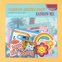 Cassette Sticker Pack_Rainbow Mix