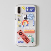 [ 아이폰 X XS ] CBB SC stickerboy1_jelly case