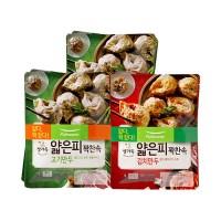 [풀무원]얇은피꽉찬속 고기만두 4봉+김치만두 2봉(총6봉)