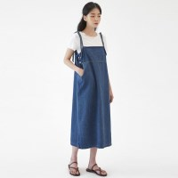 ribbon denim suspender ops_(1277545)