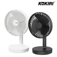 코끼리 무선 탁상용/자동회전/LED/선풍기/KDN-D165F4